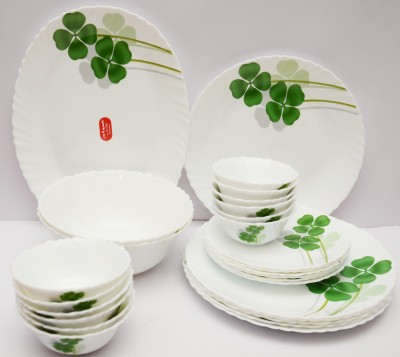 Laopala Dual Harmony Pack of 27 Dinner Set(Ceramic) at flipkart