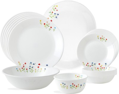 CORELLE Asia collection Flower Hill Round Pack of 21 Dinner Set(Glass)  available at flipkart for Rs.10748