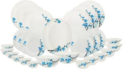 Borosil Mimosa Opalware Dinner Set Pack of 27 Dinner Set(Opalware) at flipkart