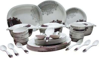 Everyday Melamine Pack of 40 Dinner Set(Melamine) at flipkart