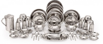 Kitchen Pro Pack of 51 Dinner Set Stainless Steel