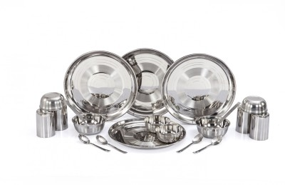 Apricot Pack of 20 Dinner Set Stainless Steel