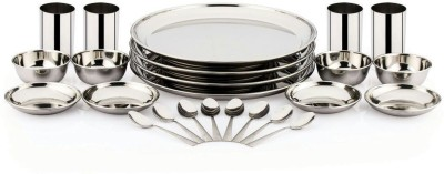Pigeon Lunch Sparkle Pack of 24 Dinner Set(Stainless Steel)  available at flipkart for Rs.1499