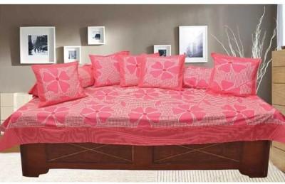 Decor Vatika Cotton Floral Diwan Set  available at flipkart for Rs.399