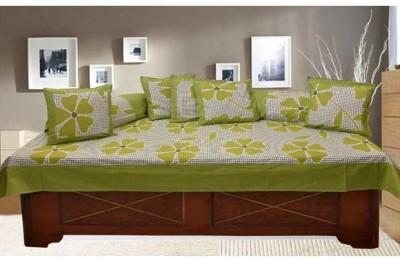 Decor Vatika Cotton Floral Diwan Set  available at flipkart for Rs.499