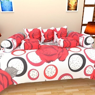 ATOZ Home Decor Cotton Floral Diwan Set  available at flipkart for Rs.545