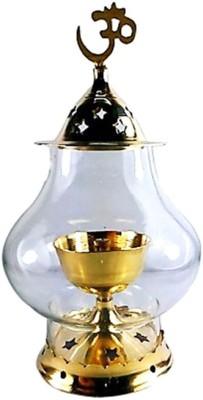 Inspiration World Pure Brass Table Diya(Height: 6 inch) at flipkart