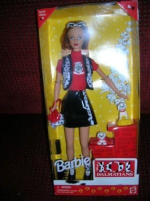 Mattel Barbie 101 Dalmations(Multicolor)
