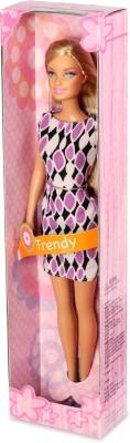 Mattel Barbie Trendy - K3326(Pink, Purple)  available at flipkart for Rs.249