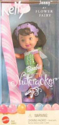 Barbie Nutcracker Kelly Jenny As Flower Fairy (2001)(Multicolor)  available at flipkart for Rs.2901