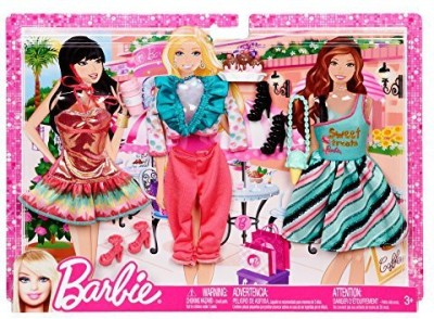 Mattel Barbie My Fab Life Night Looks Fashion Set(Multicolor)  available at flipkart for Rs.3155