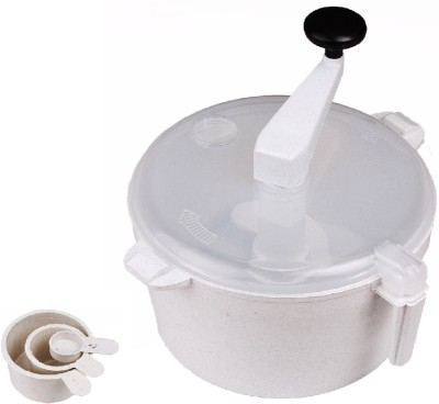 Ezone Roti Maker _013 Plastic Detachable Dough Maker(White)  available at flipkart for Rs.269