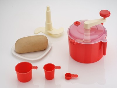 Rudraksh Appliances Polo Plastic Detachable Dough Maker(Red) at flipkart