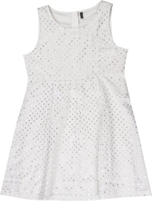 United Colors of Benetton. Girls Casual Dress at flipkart