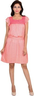 VS Fashion Women A-line Pink Dress