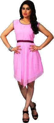 Palav Kurties Solid Women's Kurti(Pink)