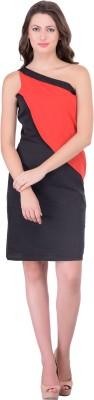 Athena Women Layered Black Dress