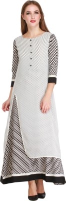 Cottinfab Women Maxi White Dress