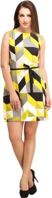 Color Fuel Women Sheath Multicolor Dress