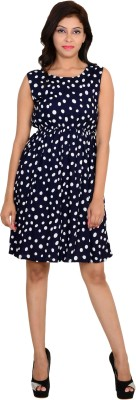 VS Fashion Women Sheath Blue Dress