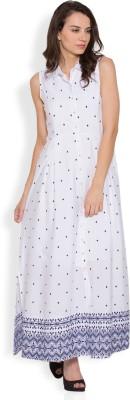 Tokyo Talkies Women Maxi White Dress