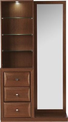 HomeTown Cambry Engineered Wood Dressing Table(Finish Color   Walnut) Best Dressing  Tables Price