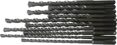 Te-Rux-SDSP-SET-102-SDS-Plus-Hammer-Drill-Bit-Set-(10-Pc)