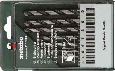 Metabo-27-193-Tipped-Masonry-Drill-Bit-Set-(8-Pc)
