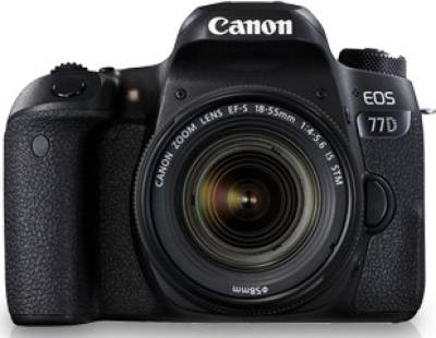 Canon EOS 77D DSLR (With EF-S18-55 IS STM Lens) Image