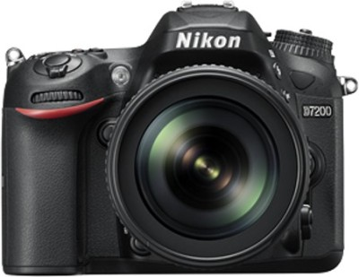 Nikon D7200 Body with AF-S 18 - 105 mm VR Lens DSLR Camera Body with AF-S 18 - 105 mm VR Lens(Black)