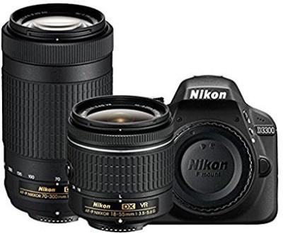 Nikon D3300 DSLR Camera D-ZOOM KIT: AF-P 18-55mm VR + AF-P DX NIKKOR 70-300mm f/4.5-6.3G ED VR Kit Lenses