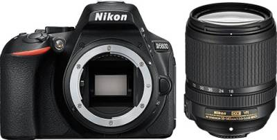Nikon D5600 DSLR Camera ( With AF-S DX Nikkor 18 - 140mm F/3.5-5.6G ED VR Lens ) Image
