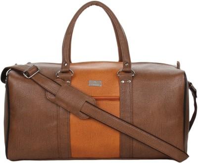 K London 1311_brown Duffel Without Wheels K London Duffel Bags