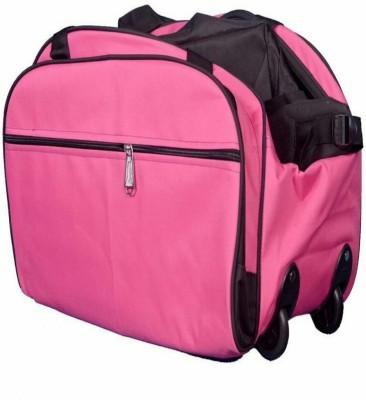 Inte Enterprises  Expandable  AMB02 Travel Duffel Bag Pink