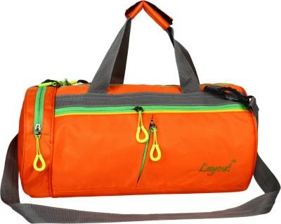 Layout 17 inch/43 cm  Expandable  Energy12 Gym Bag Orange Layout Duffel Bags