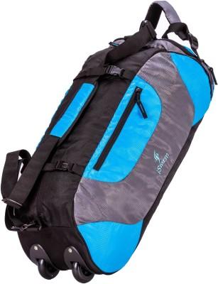 Istorm Wheeler Sku Blue Duffel Strolley Bag Blue