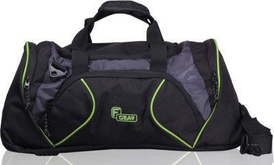 F Gear Metro 21 inch/54 cm Gym Bag(Black, Grey, Green)  available at flipkart for Rs.899