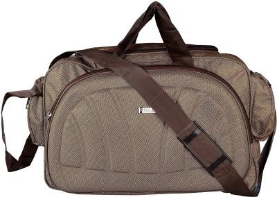 Inte Enterprises  Expandable  amb00001 Travel Duffel Bag Brown
