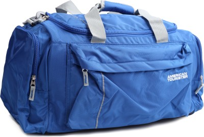 American Tourister (Expandable) X-bag Travel Duffel Bag(Blue, Grey)