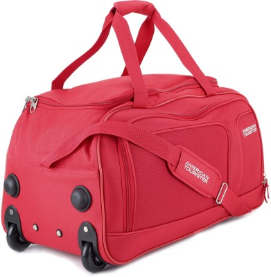 American Tourister 22 inch/57 cm Vision Travel Duffel Bag(Red)