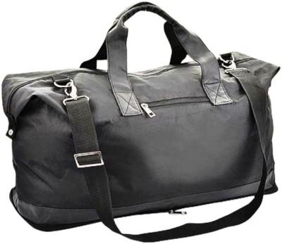 Good Times 7 inch/19 cm  Expandable  Foldable Travel Duffel Bag Black Good Times Duffel Bags