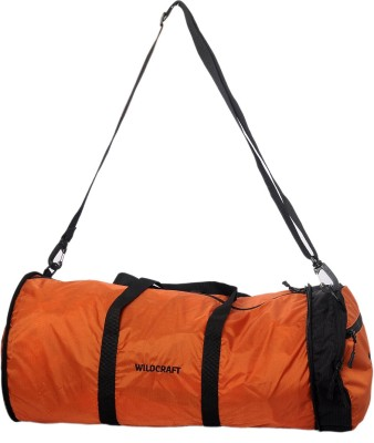 Wildcraft 10 inch/25 cm (Expandable) Pravas Orange Travel Duffel Bag(Orange)