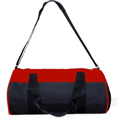 One Up 20 inch/50 cm (Expandable) ExpandableDR Travel Duffel Bag(Red, Black)