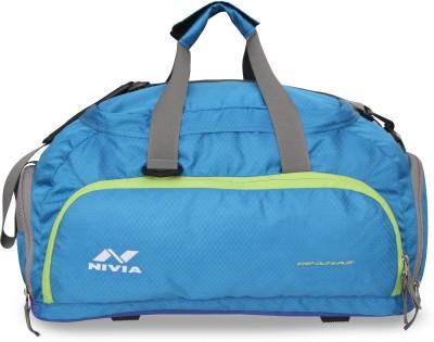 Nivia Carrier 3 Jr Duffel bag Travel Duffel Bag Blue, Kit Bag Nivia Gym Bag