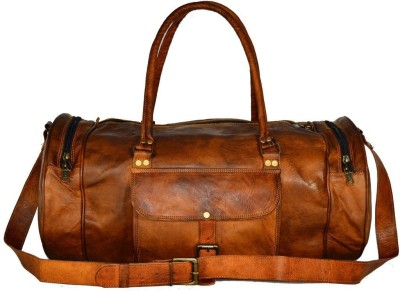 Pranjals House pranjals house vintage handcraft 22 inches overnight bag Travel Duffel Bag