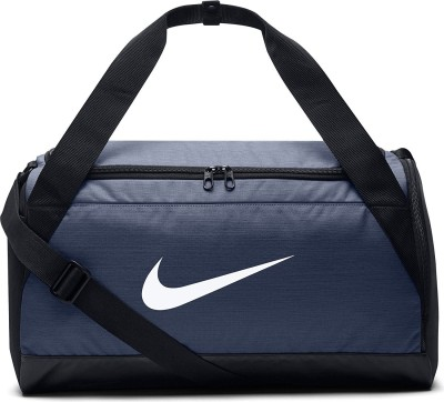 b25a9e2eec45 Nike Nike Brasilia Blue Duffel Bag (Expandable) Travel Duffel Bag ( Blue )