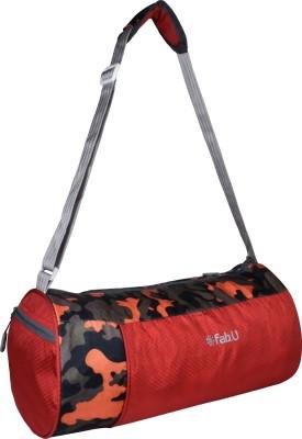 Fabu  Expandable  Red Gym Bag Red