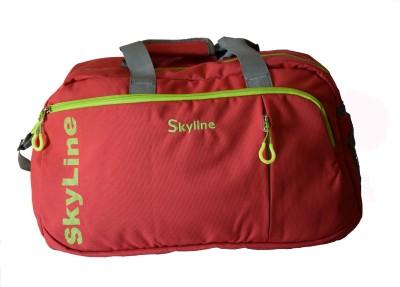 Skyline 753 Travel Duffel Bag Red Skyline Duffel Bags