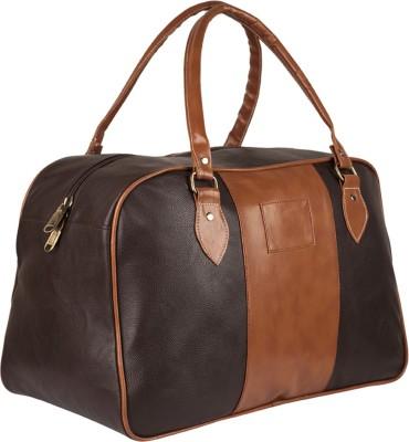 f1627ec4d2a0 46% OFF on 3G 18 inch Leatherette bag Travel Duffel Bag(Brown) on Flipkart