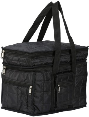 SuiDhaga Double Decker Bag 15inches Travelling Bag  Dimension: 29*37*27 CM  Travel Duffel Bag Black